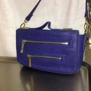Olivia + joy cobalt blue small purse